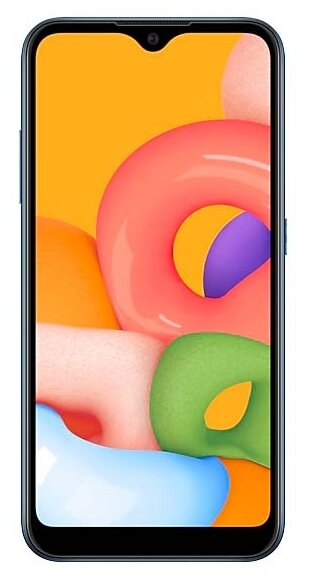 Смартфон Samsung SM-M015F Galaxy M01 32Gb Blue